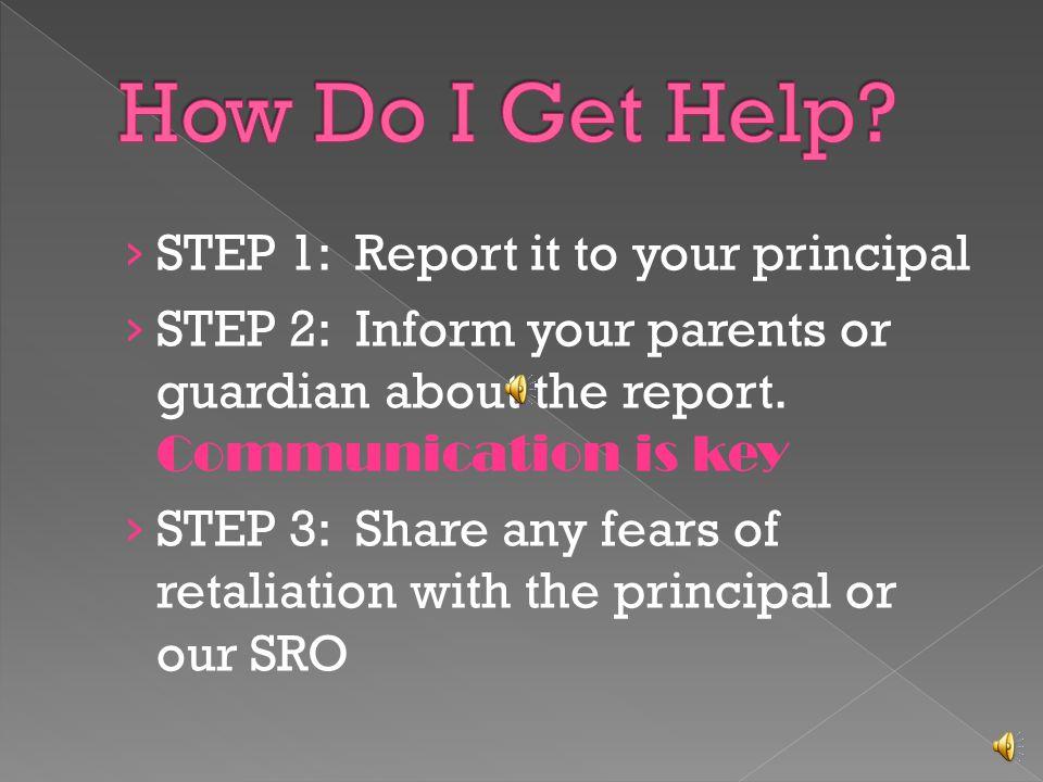 Teachers often intervene to stop bullying.