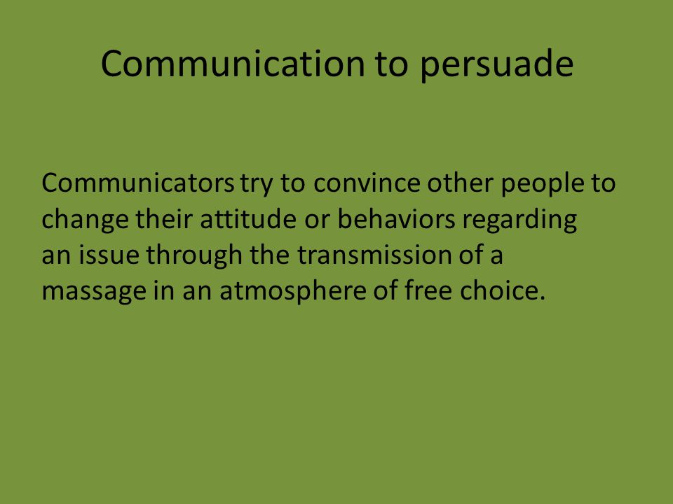 Communication to educate To lecture at a university or to educate a group of people about any subject, such as health issues.