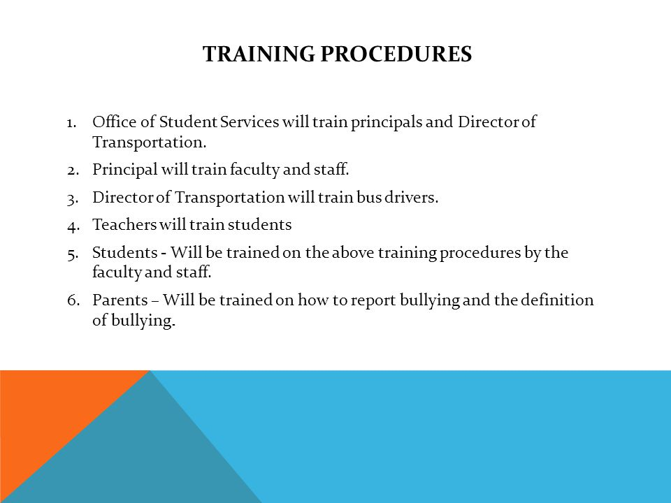 MONTHLY PROGRAMS It is crucial that the Tuscaloosa County School System make a consistent effort to train all students on how to identify strategies concerning harassment and bullying.