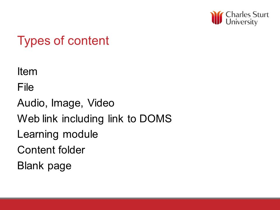 Where can I learn more about organising content.