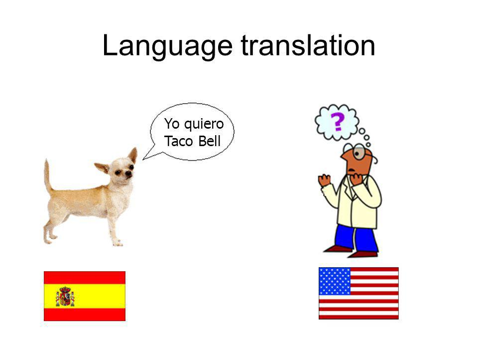 Input: –Big bag of files obtained from somewhere, believed to contain pairs of files that are translations of each other.
