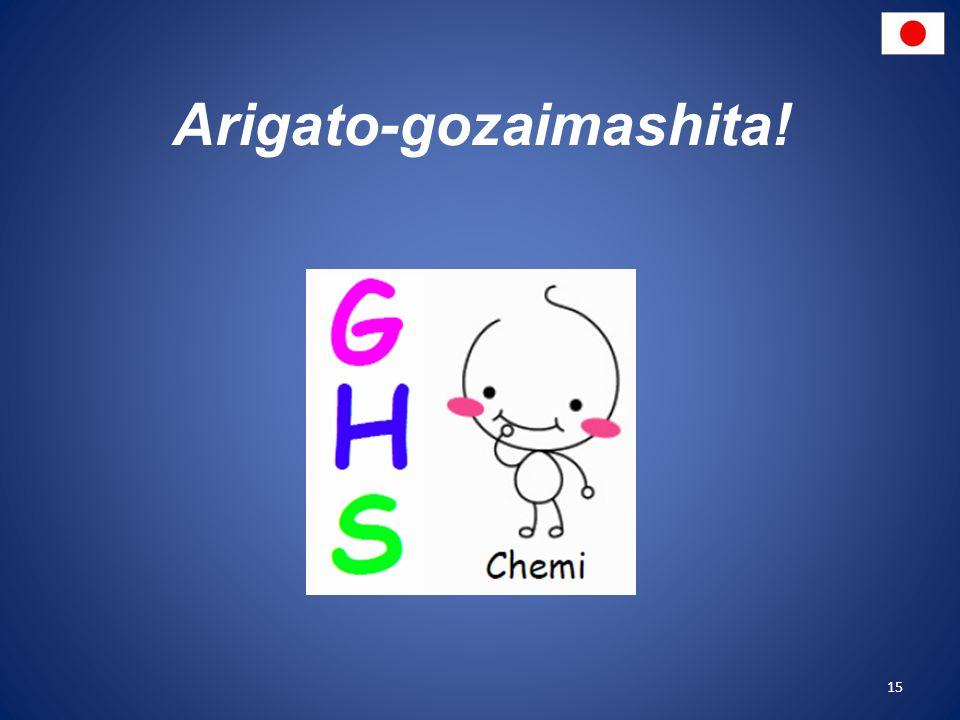 Arigato-gozaimashita! 15