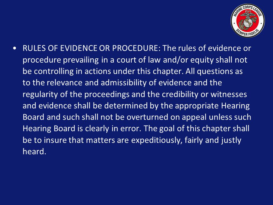 The Board may sustain or reject the decision of the National Judge Advocate.