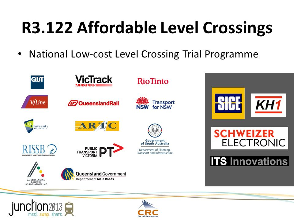 R3.122 Affordable Level Crossings National Low-cost Level Crossing Trial Programme