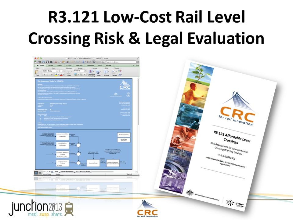 R3.121 Low-Cost Rail Level Crossing Risk & Legal Evaluation