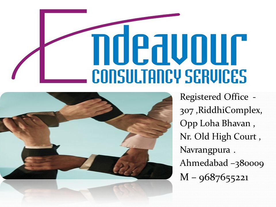 Endeavour Consultancy Services is an emerging recruitment firm providing end-to-end talent solutions to many industrial segments across the country.