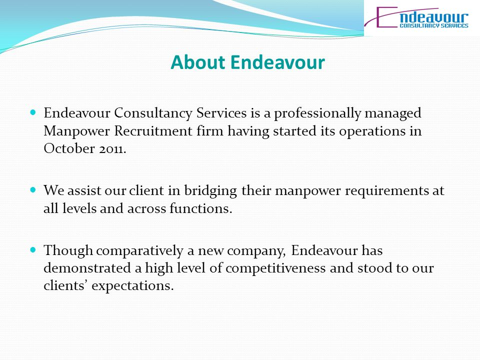 Cont… The profit gives to the franchisee only if the whole amount of the franchisee received by the Endeavour Consultancy Services.