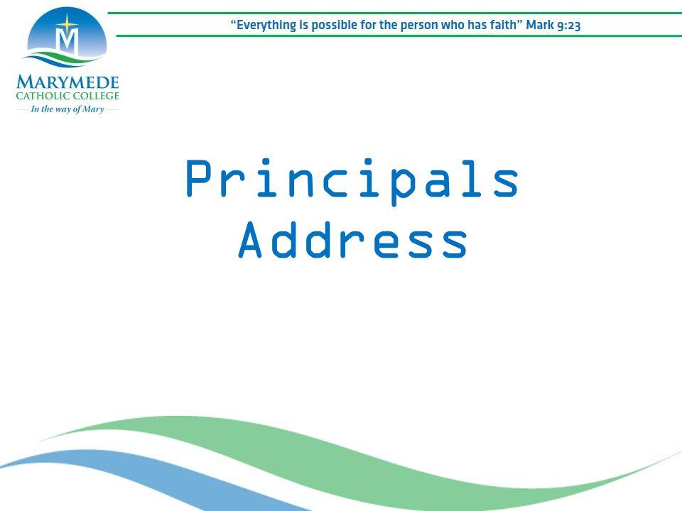 Principals Address