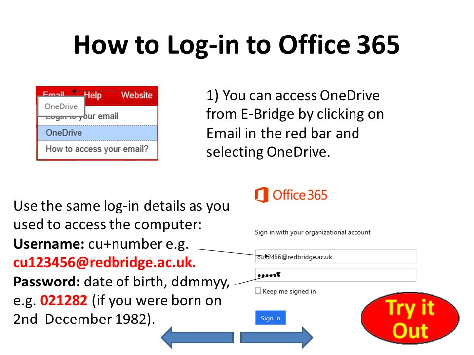 Saving Your Work (Overview) You can create and save documents using your Office 365 account.