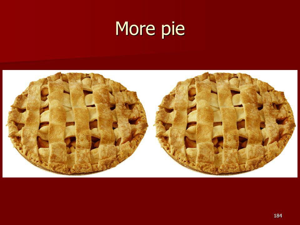 More pie 184