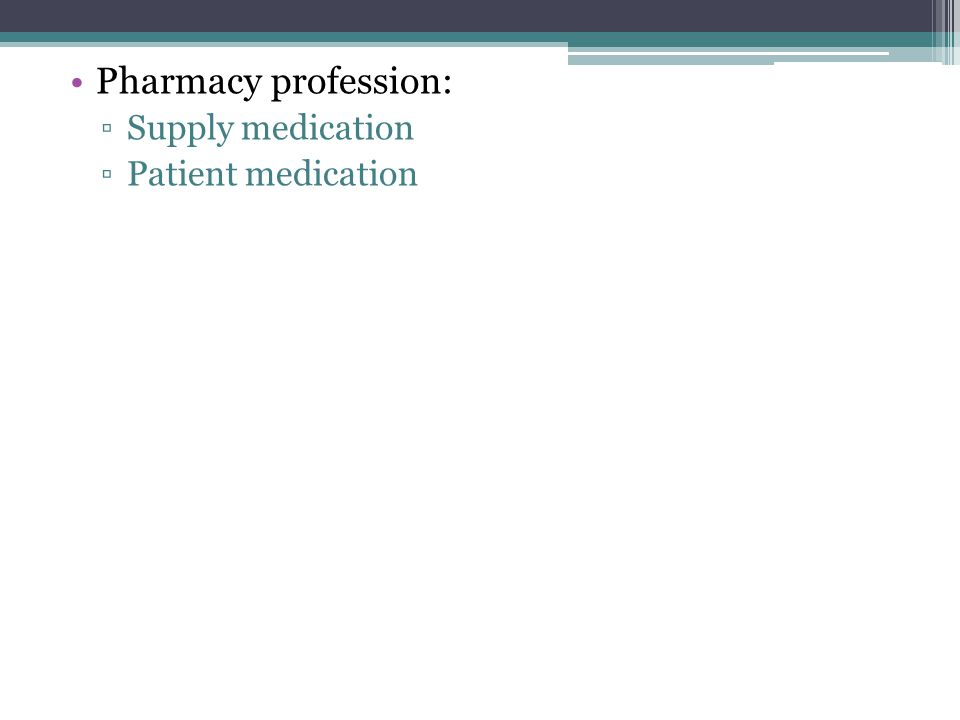 Role of pharmacist: 1.Manufacturing 2.Sorting 3.Marketing 4.Regulatory affairs 5.Formulations 6.Dispensing 7.Medical team 8.Academic 9.Research 10.Consultations