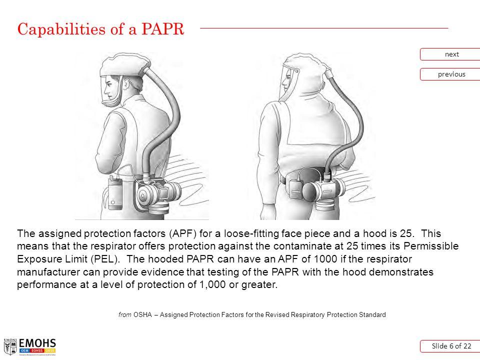 How do I maintain my PAPR.