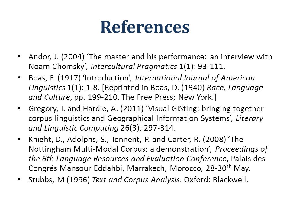 References Andor, J.