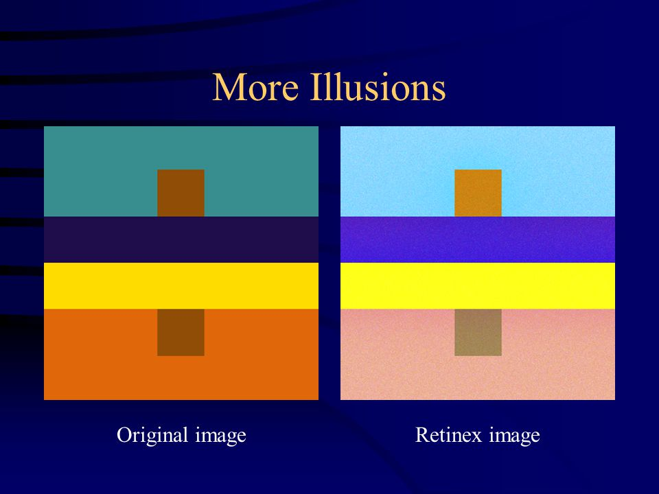 More Illusions Original imageRetinex image