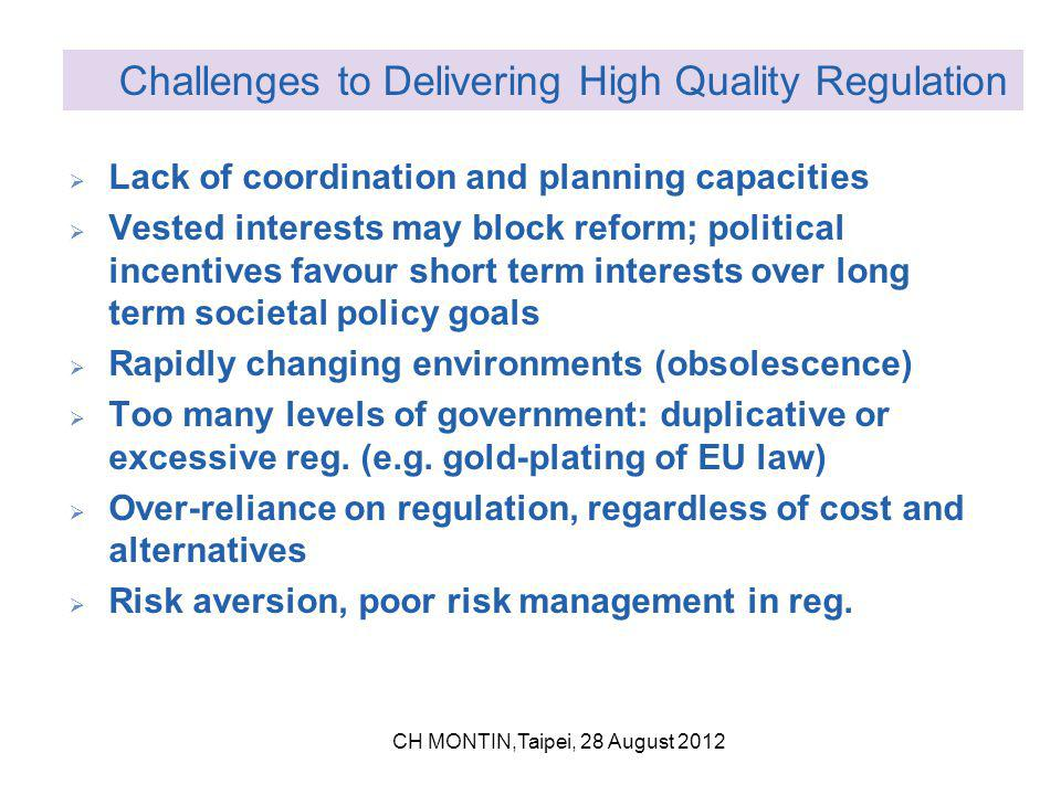 European Better Regulation Mandelkern Predominantly legal Simplification Consultation standards 2002 Barroso I (2005) VP Verheugen Competitiveness test Admin Burden Reduction Progr.