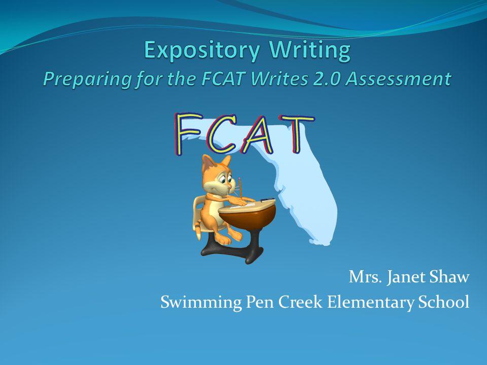 Mrs. Janet Shaw Swimming Pen Creek Elementary School
