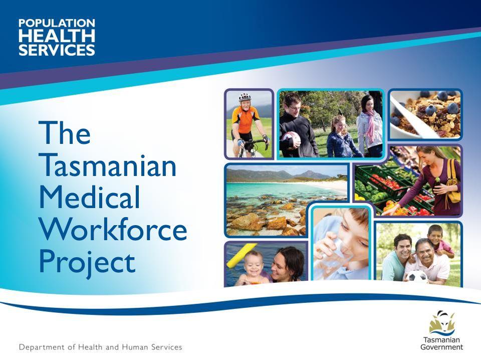 Tasmanian Medical Practitioners: Principal role & Gender Source- HWA database enquiry 2012