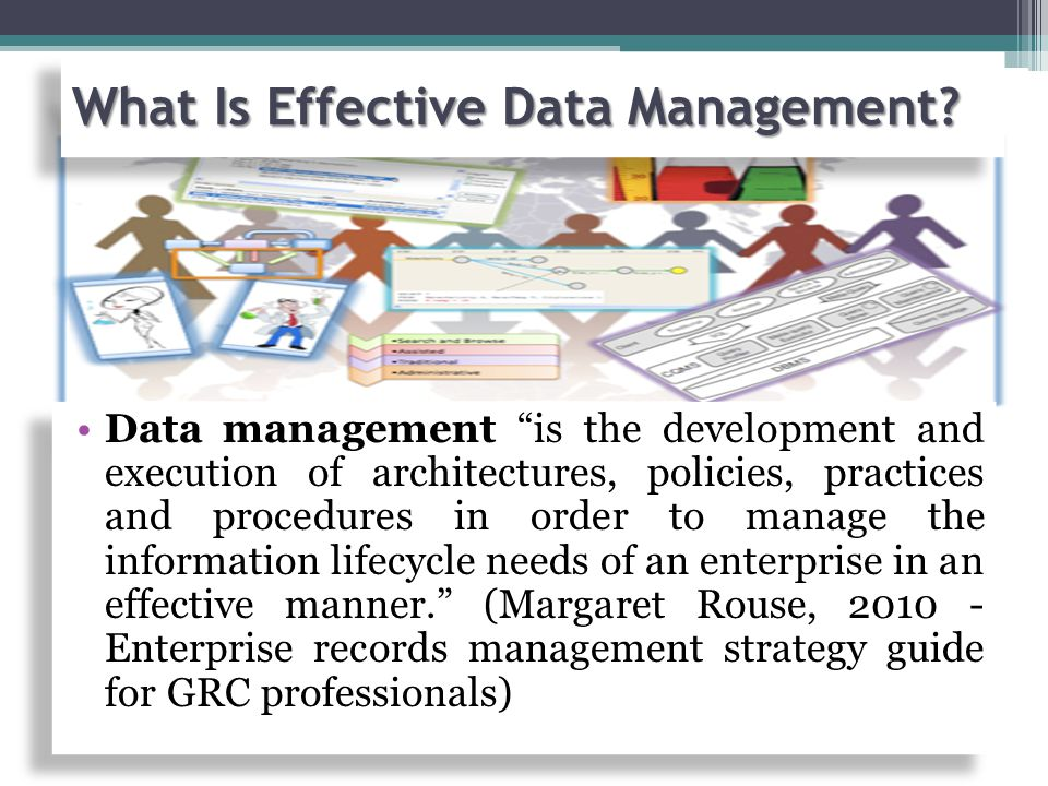 What Is Effective Data Management.