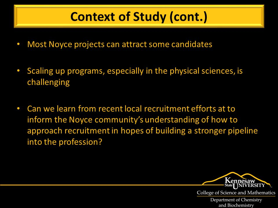 3 Noyce projects since 2007, $4.6M in funding 8 new (tenure-track) faculty lines in science education since 2004 (now 10 total, plus 15 in math ed) Assoc.