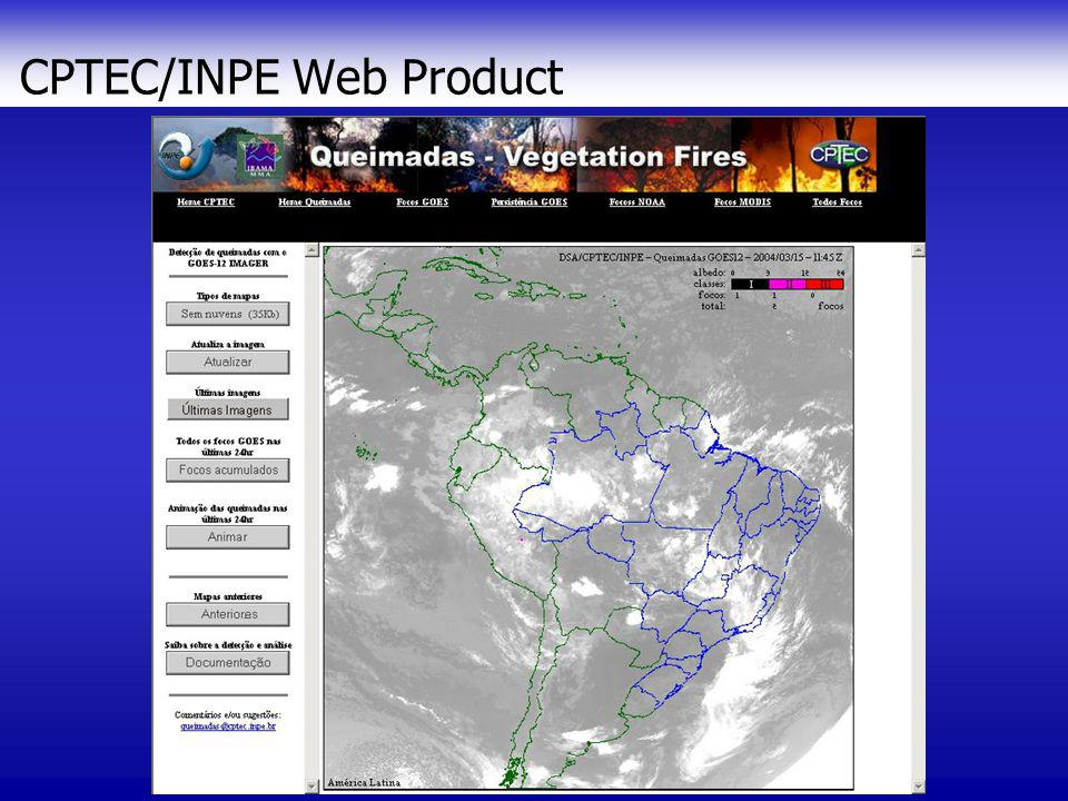 CPTEC/INPE Web Product