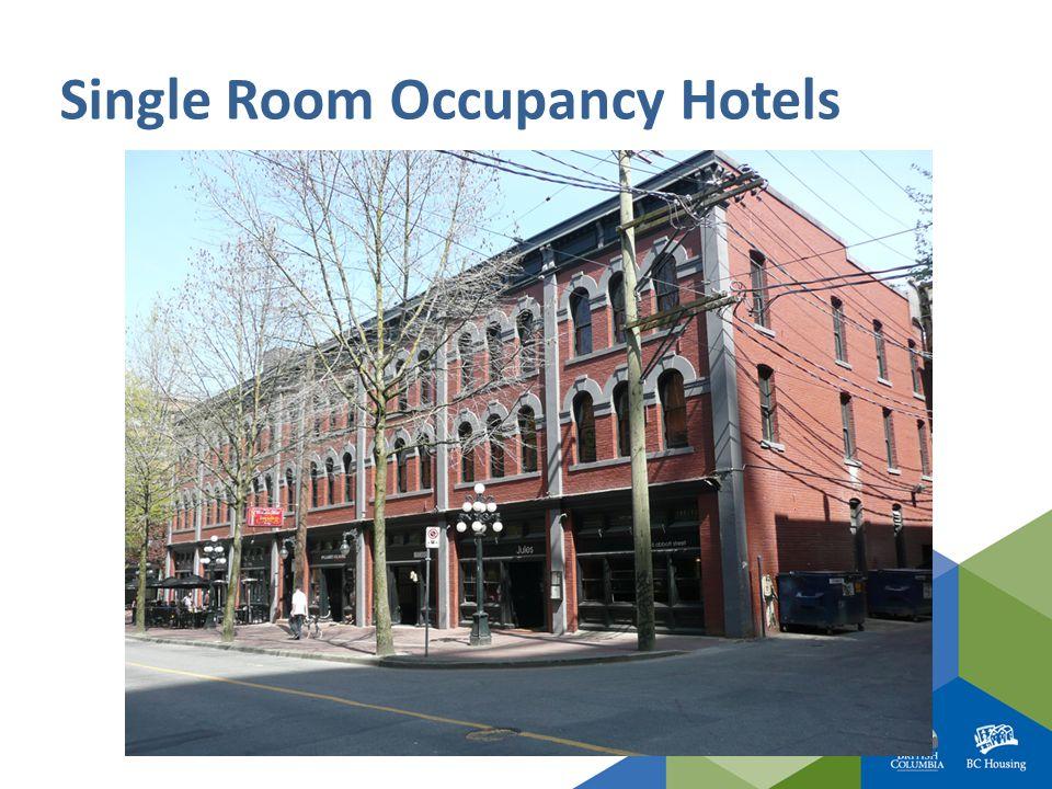 Single Room Occupancy Hotels
