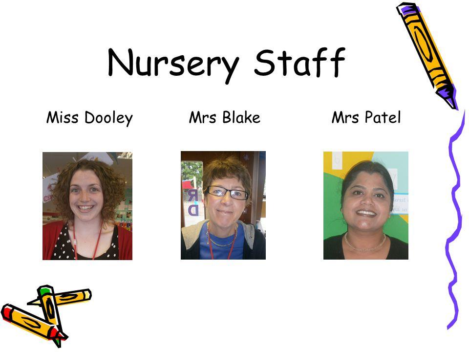 Nursery Staff Miss Dooley Mrs Blake Mrs Patel Photo
