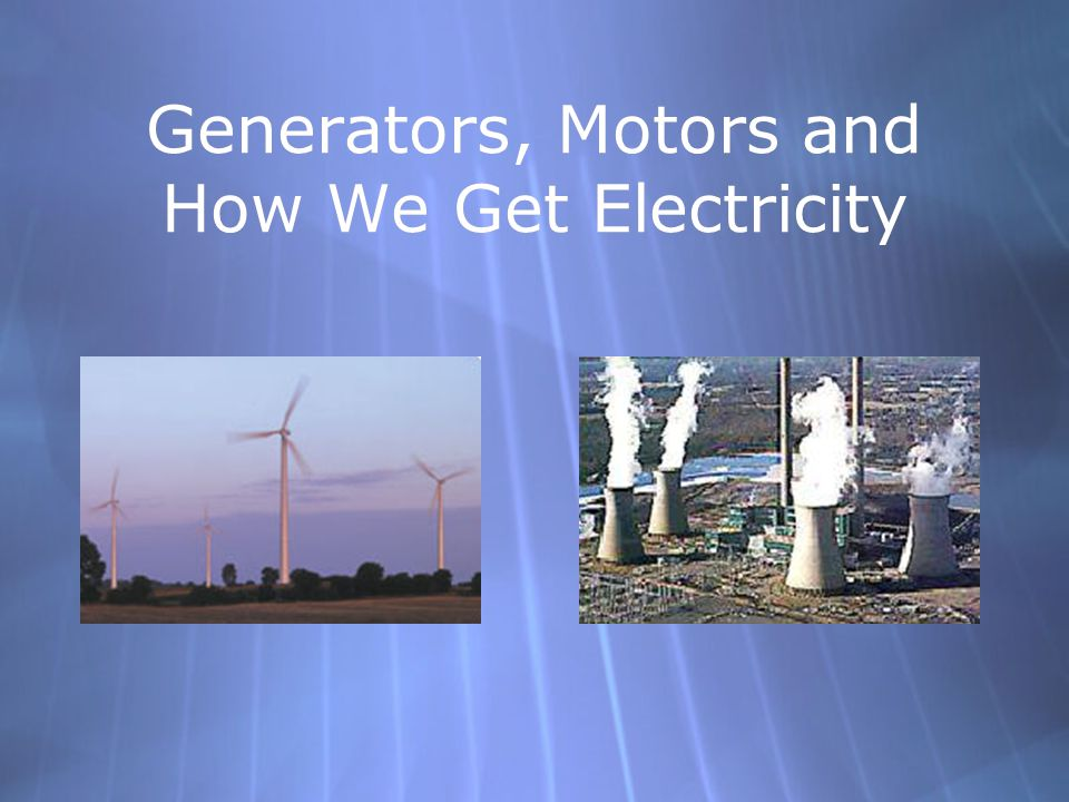 Topics  What is electricity. Energy Conversion  The Faraday Effect  Motor vs.