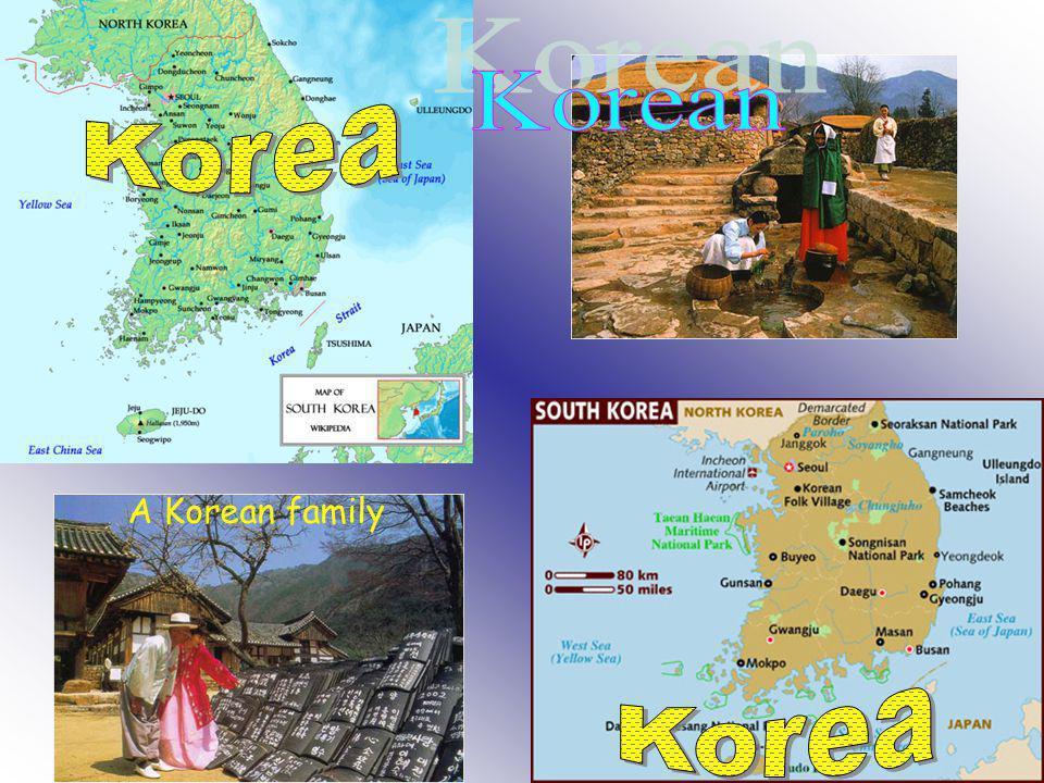 A Korean family