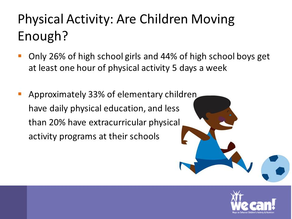 Physical Activity: Are Children Moving Enough.