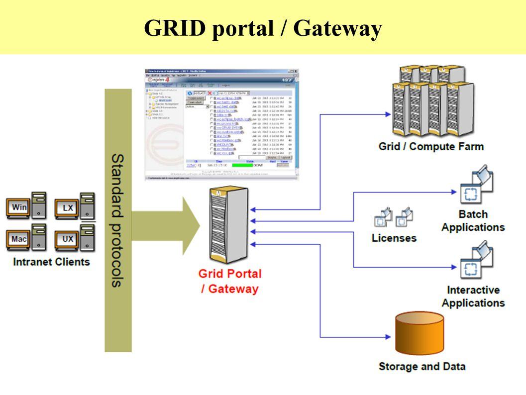 GRID portal / Gateway