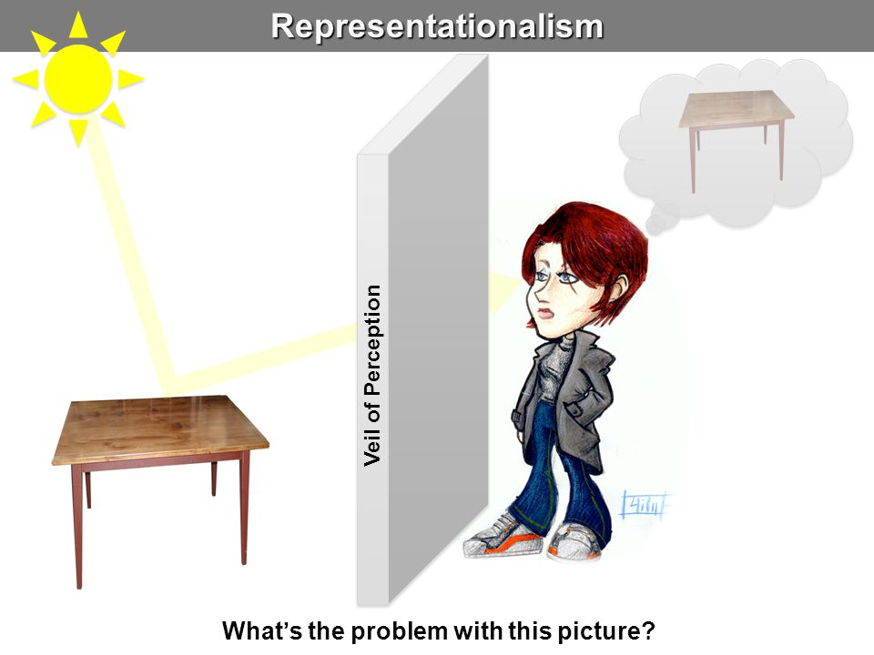 Representationalism Veil of Perception What's the problem with this picture?
