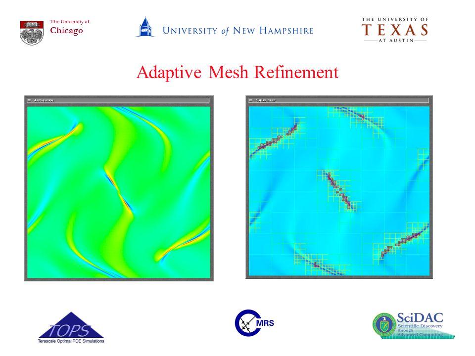 The University of Chicago Adaptive Mesh Refinement