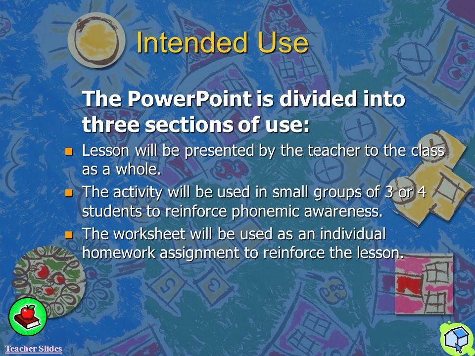 Maryland Teacher Technology Standards II. Communication A.