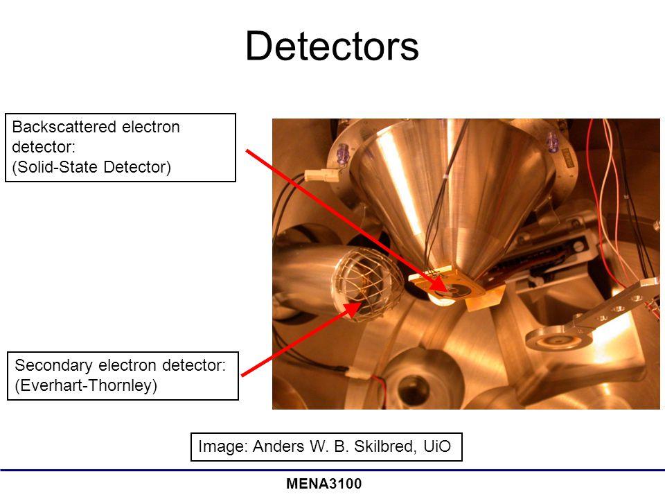 MENA3100 Detectors Image: Anders W.B.