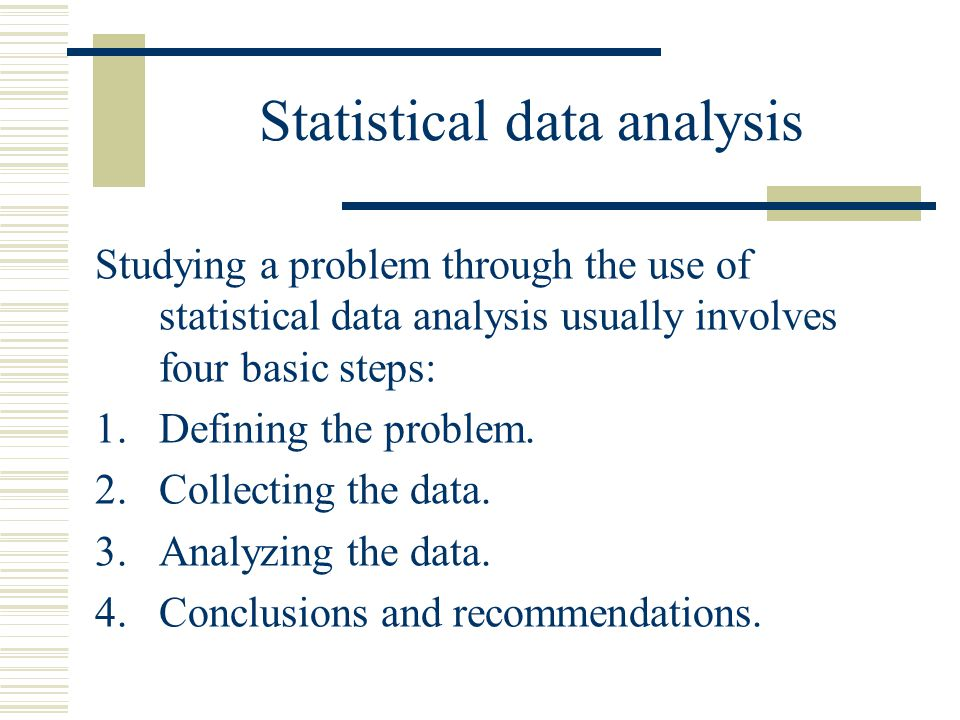 Basic Statistics Terms In order to determine the needed sample size we first must define some basic statistics terms.