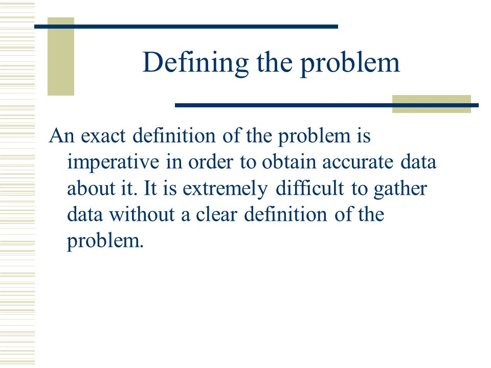 Definition of Type I and Type II errors Sometimes our decisions will be correct and sometimes not.