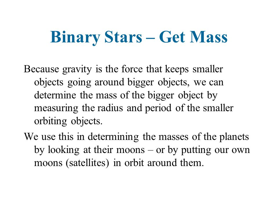 Farther stars For the farther stars, we cannot use parallax to determine the distance.