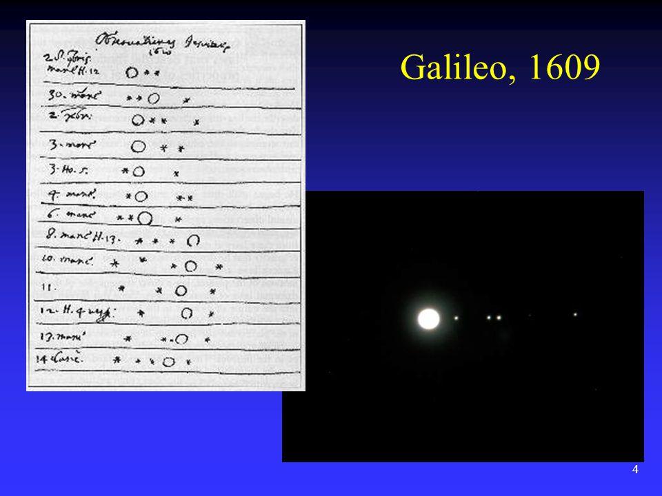 4 Galileo, 1609