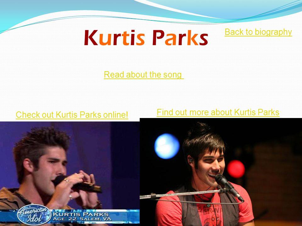 Kurtis Parks Check out Kurtis Parks online.