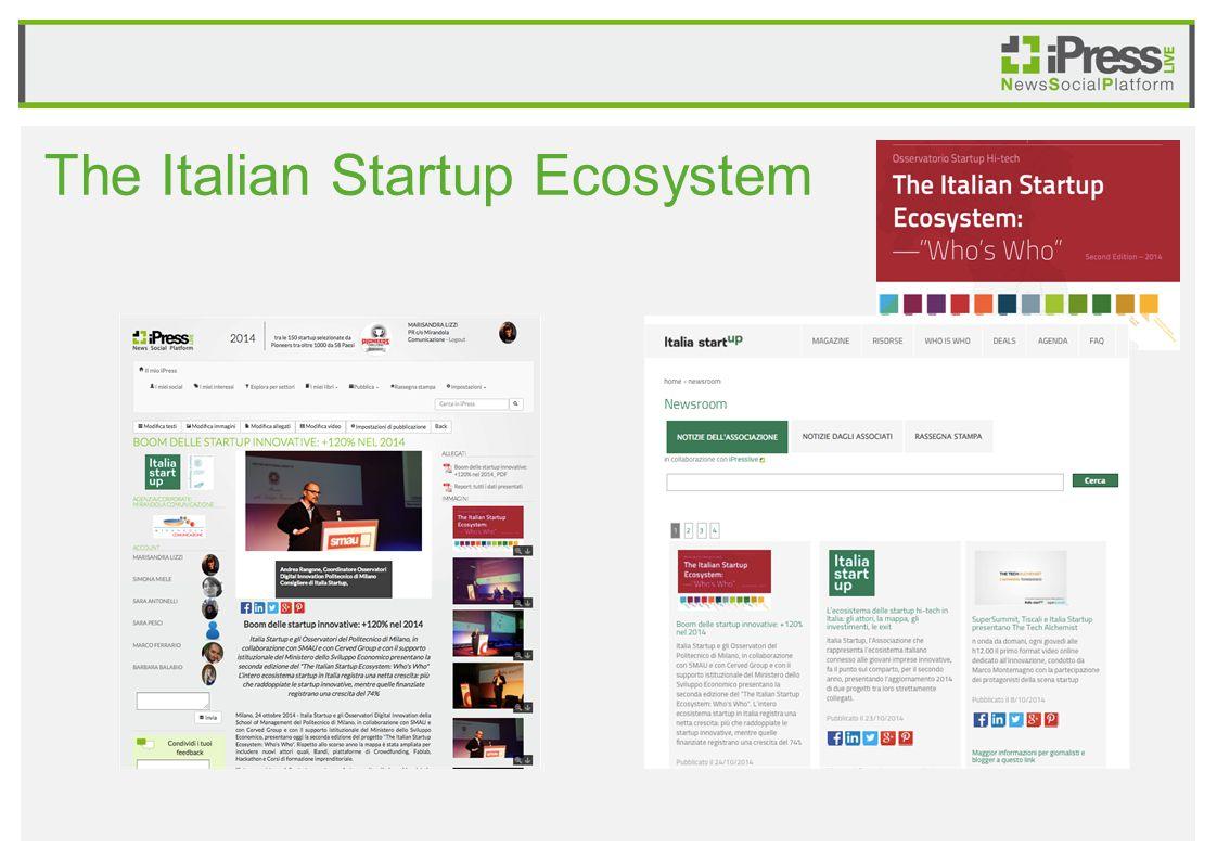 The Italian Startup Ecosystem
