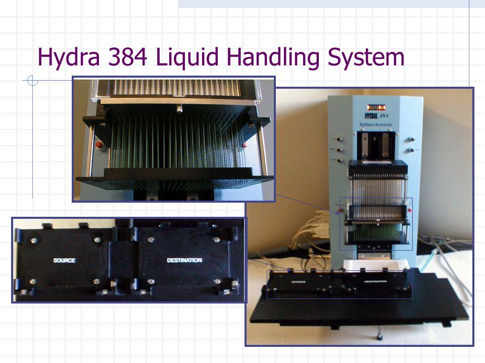 Hydra 384 Liquid Handling System