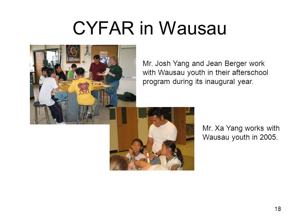 18 CYFAR in Wausau Mr.