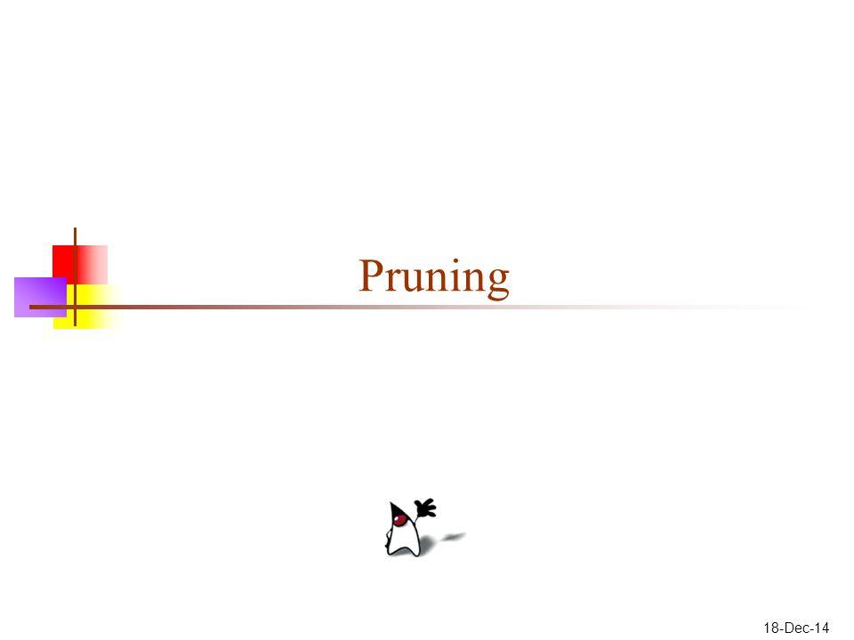 18-Dec-14 Pruning