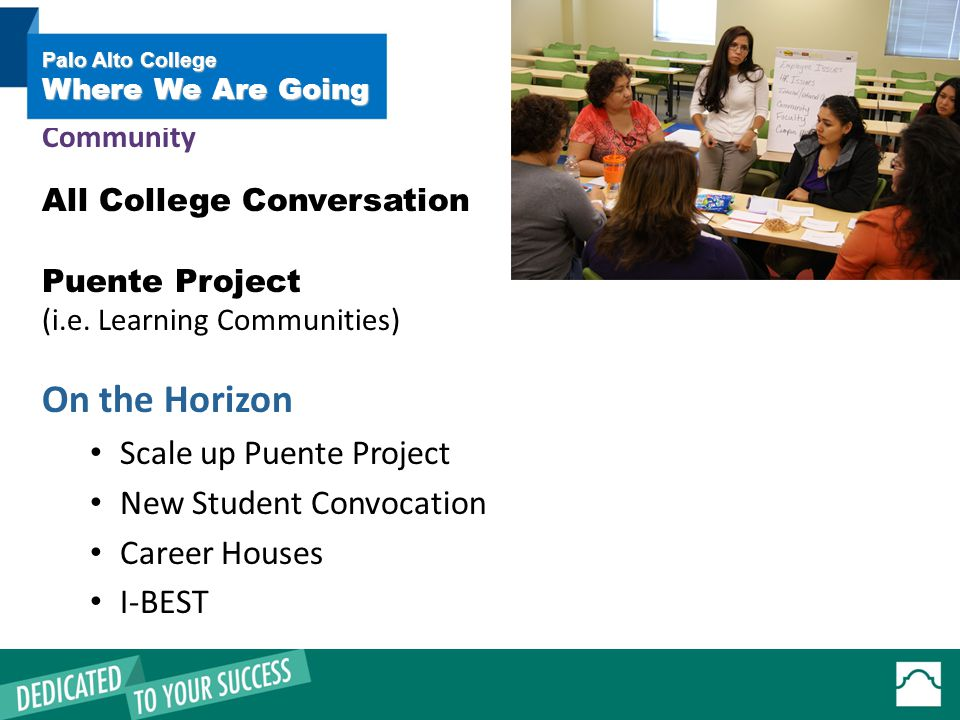 All College Conversation Puente Project (i.e.