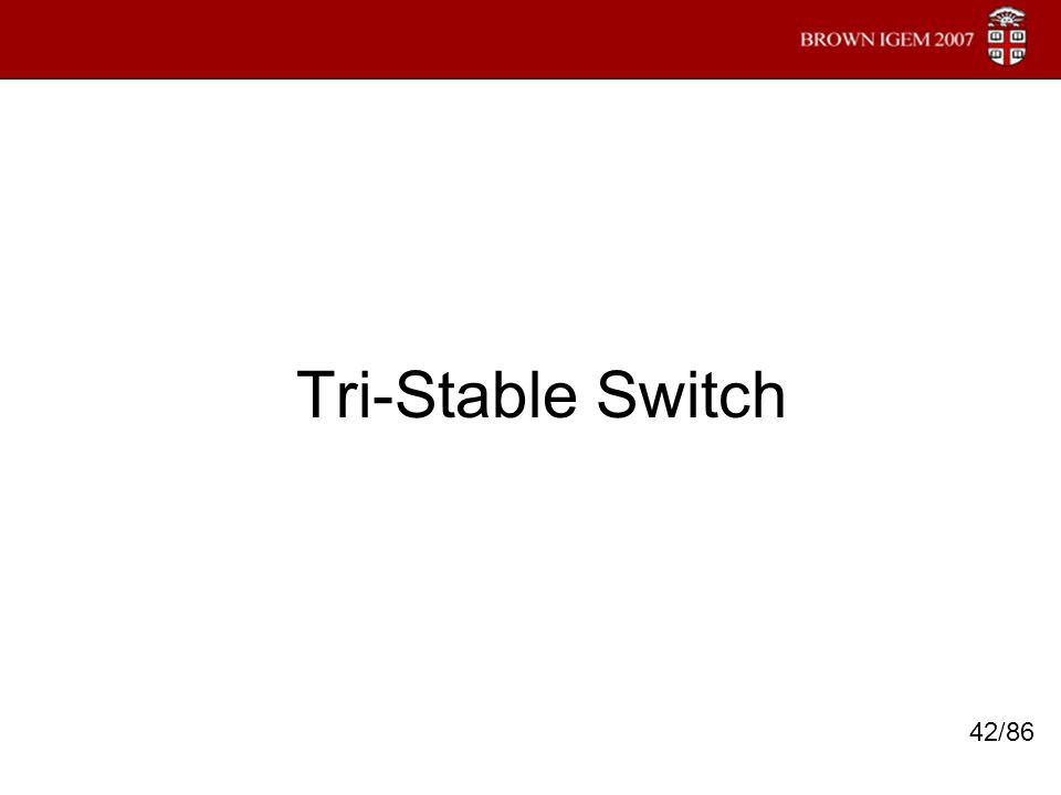 Tri-Stable Switch 42/86