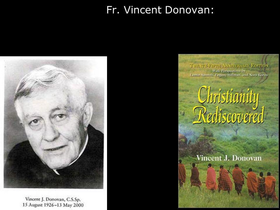 Fr. Vincent Donovan: