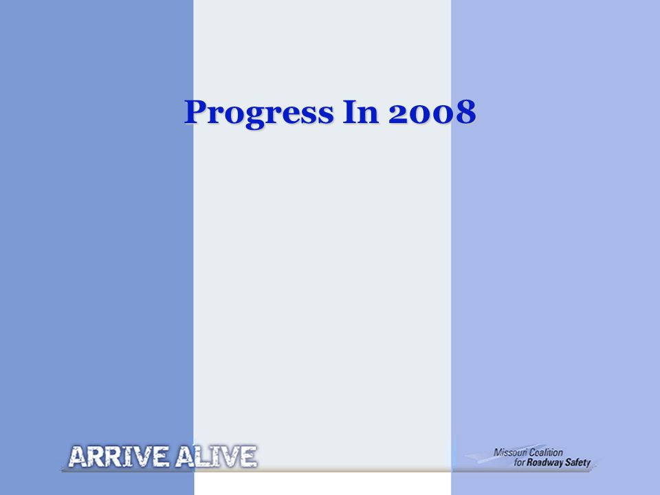 Progress In 2008