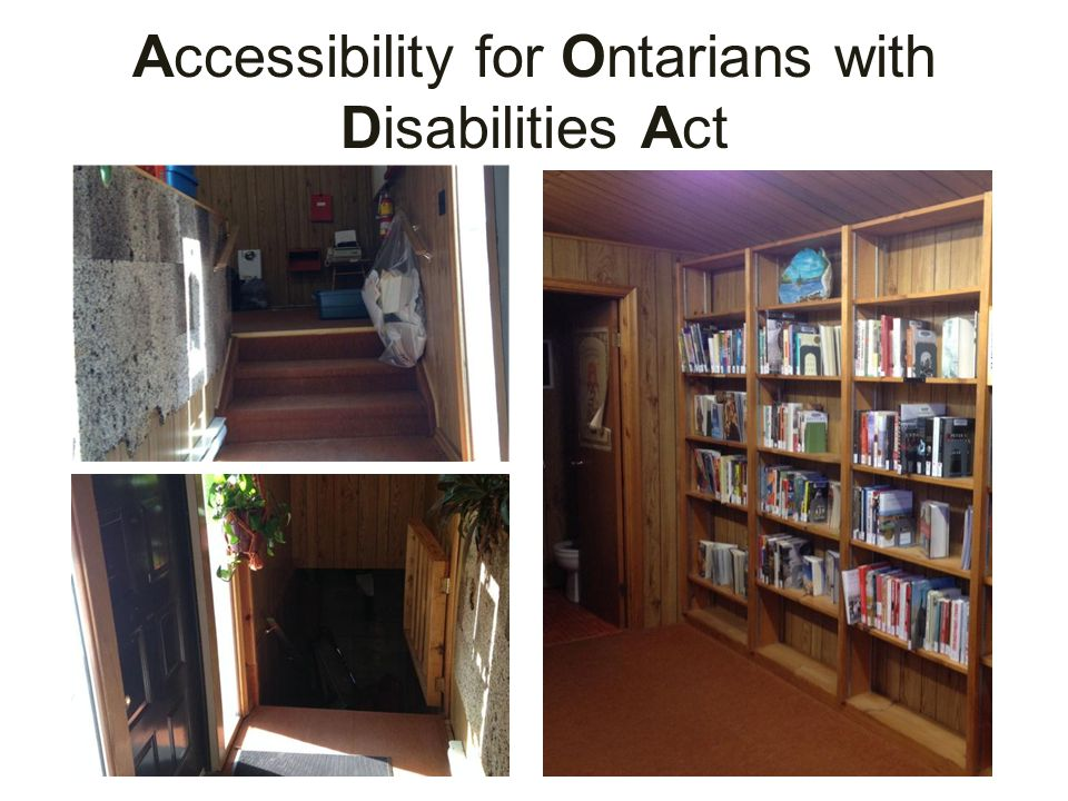 Accessibility for Ontarians with Disabilities Act