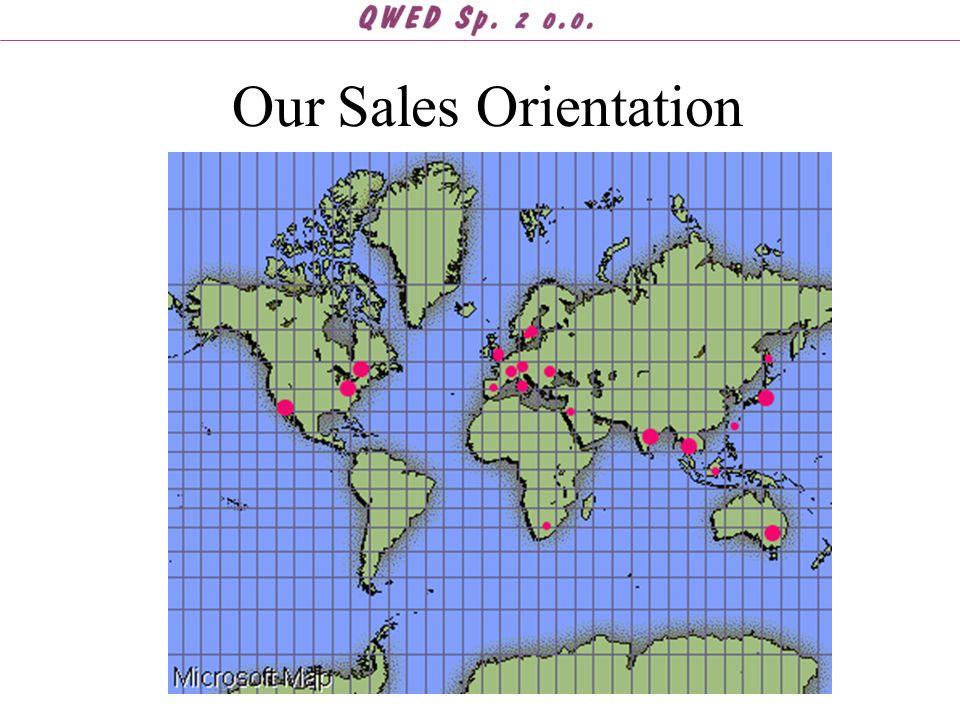 Our Sales Orientation