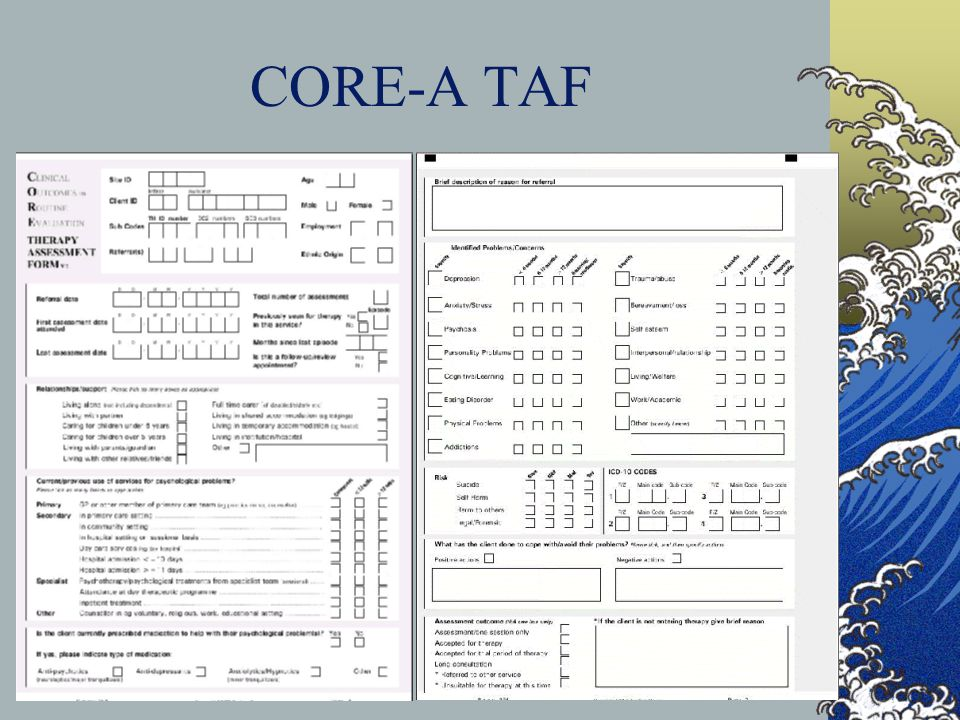 CORE-A TAF